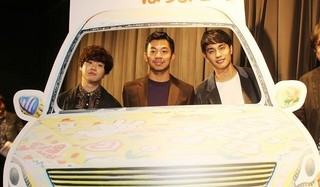 3人の男子高校生の珍道中を描く「ポンチョに夜明けの風はらませて」
