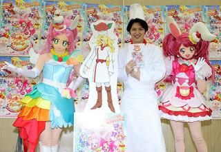 野望を口にした尾上松也「映画キラキラ☆プリキュアアラモード パリッと!想い出のミルフィーユ!」