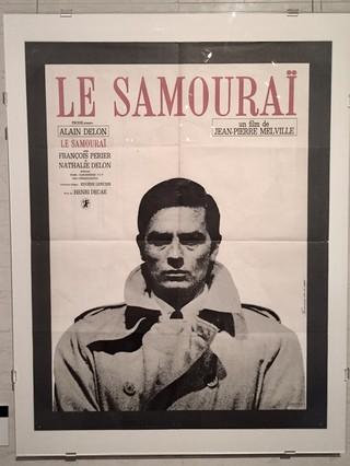 アラン・ドロン主演の「サムライ」ポスター「サムライ」