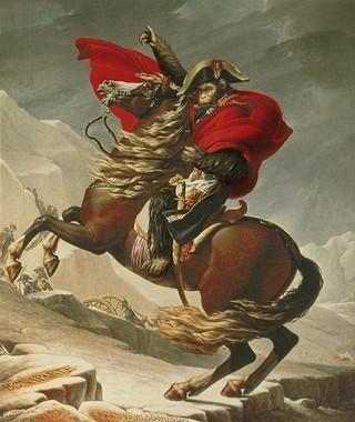 ナポレオンじゃなくシーザー!「猿の惑星」