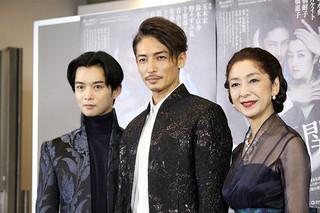 会見した玉木宏、千葉雄大、高橋恵子
