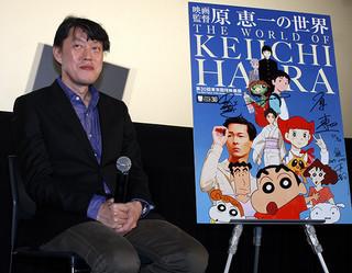 ティーチインに出席した原恵一監督「映画ドラえもん のび太のパラレル西遊記」