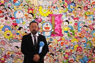 「THE ドラえもん展」で「あんなこといいな 出来たらいいな」を発表した村上隆氏「アンチポルノ」