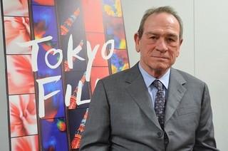 第30回東京国際映画祭コンペ部門で審査 委員長を務めたトミー・リー・ジョーンズ