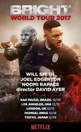 Netflix「ブライト」ウィル・スミス、ジョエル・エドガートン、ノオミ・ラパス来日決定!
