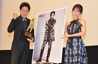 大泉洋と前田敦子「探偵はBARにいる」