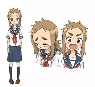 小原好美が声を担当するキャラクター、 ミナの設定画「魔法陣グルグル」