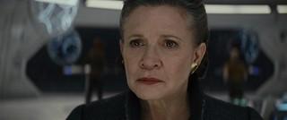レイア役を演じた故キャリー・フィッシャーさん「スター・ウォーズ 最後のジェダイ」