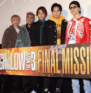 興行収入は9億円を突破「HiGH&LOW THE MOVIE 3 FINAL MISSION」