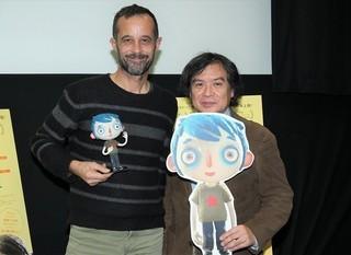 クロード・バラス監督と片渕須直監督「ぼくの名前はズッキーニ」