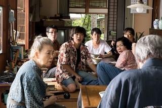 画家・熊谷守一の自宅を訪れる人々を演じる