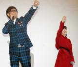 """ももクロ・百田、山寺宏一と""""母子""""でゾロリ主題歌披露「息子よ、よく頑張った」"""