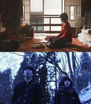 「わたしたちの家」(上段)、「あみこ」(下段) (C)東京藝術大学大学院映像研究科「わたしたちの家」