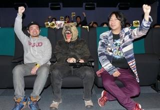 (写真1番左)黒須マモル氏、(写真1番右)杉山すぴ豊氏「ガーディアンズ」