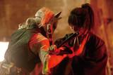 福士蒼汰の激闘、臨戦態勢の古川雄輝!「曇天に笑う」渾身アクション収めた場面写真