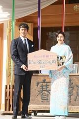 阿部寛「新参者」舞台・人形町は「第二の故郷」 松嶋菜々子の着物には「やっぱ超綺麗だな」