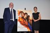 来日したテリー・ジョージ監督「THE PROMISE」は「2018年最高のヒーロー映画」