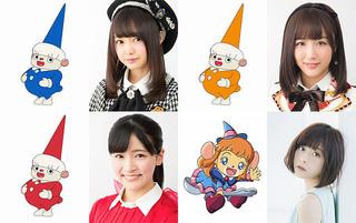 AKB48グループの樋渡結依、鎌田菜月、村雲颯香、声優の水瀬いのりが出演「映画しまじろう まほうのしまの だいぼうけん」