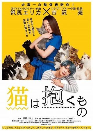「猫は抱くもの」ティザーポスター