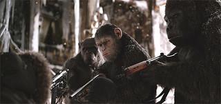 「猿の惑星:聖戦記」の一場面「猿の惑星:聖戦記(グレート・ウォー)」
