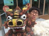 第10回沖縄国際映画祭開幕!ひょっこりはん、各所でひょっこりPR
