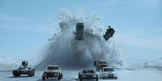 「ワイルド・スピード ICE BREAK」の一場面