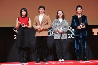 東京ジェムストーン賞に輝いた若手俳優4人