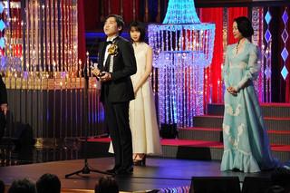 プロデューサーの齋藤優一郎氏、声優を務めた上白石萌歌、黒木華らが登壇