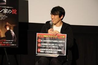 「ホラー映画を作る上での3つの掟」を解説した松江哲明監督