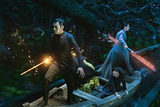 韓国映画史上最大規模のセットでのアクションシーン