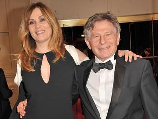 ロマン・ポランスキー監督と妻で女優の エマニュエル・セニエ