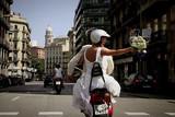 バルセロナ3D 炎のバラ