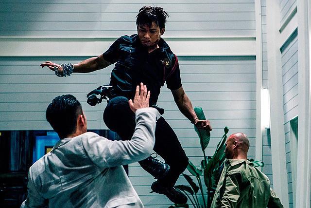 トニー・ジャーの「ドラゴン×マッハ!」の画像