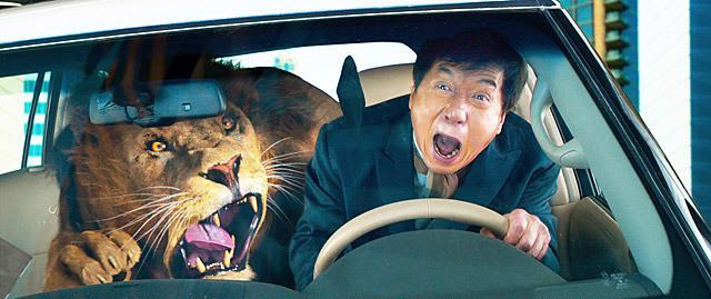 ジャッキー・チェンの「カンフー・ヨガ」の画像