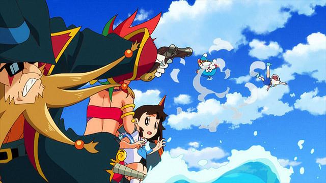 ドラえもんとのびたが飛ばされた!ドラえもん 宝島の画像です。
