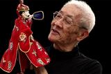 台湾、街かどの人形劇
