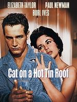 熱いトタン屋根の猫