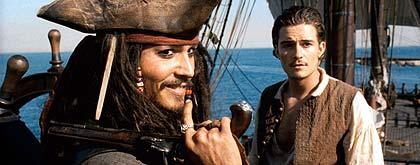 パイレーツ・オブ・カリビアン 呪われた海賊たちの映画評論・批評