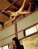 天井に張り付くザ・ブライド