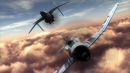 3Dで作りこまれた空中戦は圧巻