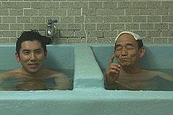 小山氏が個人的に好きだという銭湯のシーン