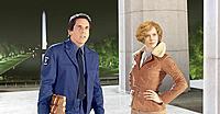 最近売れっ子のエイミー・アダムスがアメリア・イヤハートを好演。ラリー(スティラー)とともにスミソニアンを冒険する