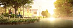情緒あふれる柳川の風景が登場