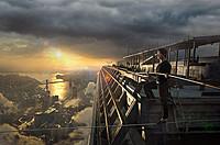 地上110階・411メートル! 実在の男が挑んだ狂気の偉業が圧倒的な臨場感で描かれる!