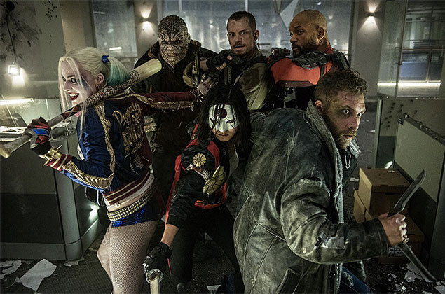 DCコミックスの名悪党どもが勢ぞろい!「スーサイド・スクワッド」