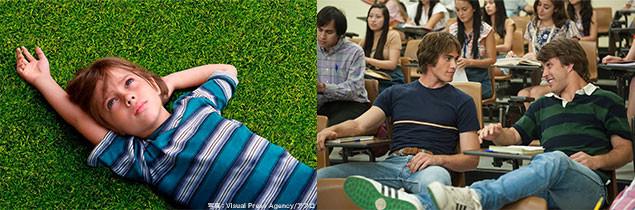 (左)「6才のボクが、大人になるまで。」 (右)本作のワン・シーン