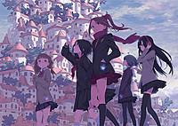 東映アニメーションが満を持して送る、15歳の少女たちの青春冒険ストーリー!