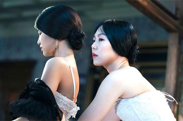 スッキ役のキム・テリ(写真左)は、オーディションで役を勝ち取った驚異の新人女優