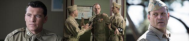 (左から)サム・ワーシントン、ヒューゴ・ウィービング、ビンス・ボーン