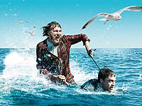 ラドクリフ扮する「死体」にまたがって海上を疾走!? インパクト絶大!
